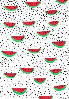 Janelle Burger - Watermelons