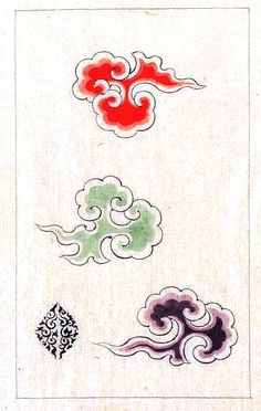 Design - Textile - Japanese pattern 1800s