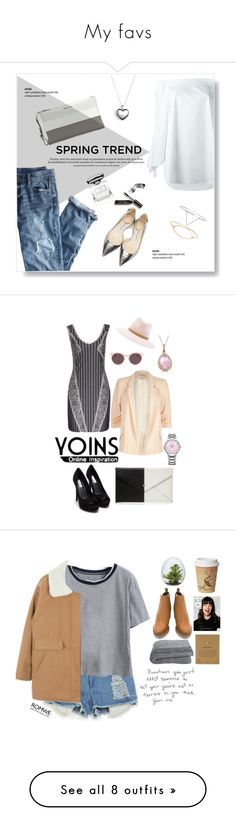 """""""My favs"""" by amipopp ❤ liked on Polyvore featuring TIBI, Miu Miu, J.Crew, Jimmy Choo, Pandora, MDSolarSciences, Bobbi Brown Cosmetics, Nly Shoes, River Island and Red Herring"""
