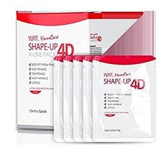 YUFIT Maping Shop ShapeUp 4D VLine Chin Patches V Shape Cheek USA sr Stretching VLine Face lifting 5 Pcs  >>> Visit the image link more details.