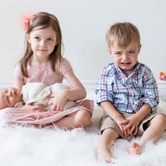 """""""Siblings are the people we practice on, the people who teach us about fairness and cooperation and kindness and caring, quite often the hard way."""" Album Design, The Hard Way, Newborn Photographer, Siblings, Flower Girl Dresses, Teaching, Lifestyle, Studio, People"""