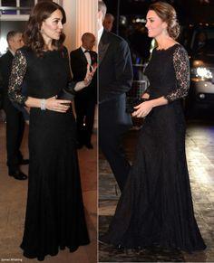 Duchess Kate: The Duchess Brings Back DVF Zarita for Anna Freud Centre Gala Dinner!