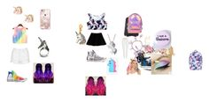 """""""Unicorn Fever"""" by livipop24 on Polyvore featuring Max&Co., Topshop, Converse, J. Valentine, Casetify, Pusheen, Artistique, Dogeared, Juicy Couture and Accessorize"""