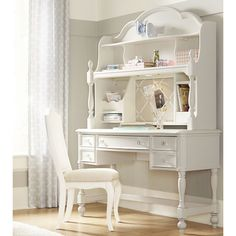 """LC Kids Harmony by Wendy Bellissimo 47""""W Desk with Optional Hutch"""