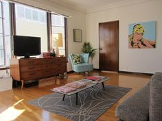 vintage palette in San Francisco via Apartment Therapy