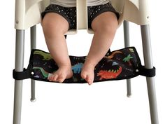 Footsi - Highchair Footrest - Limited Edition Prints - 5 options – Pimp my high chair Antilop High Chair, Fine Motor Skills Development, Footrest, Wash Bags, Limited Edition Prints, Memory Foam, Range, Stove, Foot Stools