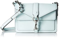 Women's Cross-Body Handbags - Rebecca Minkoff Hudson Moto Mini Light Mint >>> To view further for this item, visit the image link.