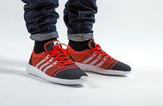 Adidas Element Refine Tricot 'Black-Solar Red' (3)