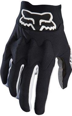 Gloves fox ascent Glove Black Black MTB Mountain Bike Freeride allmountain