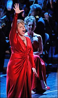 Patti Lupone  EVERYTHINGS COMING UP ROSES FOR ME AND FOR YOOOOOOOOU