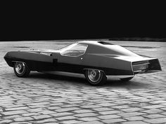 1965 Cadillac XP-840 Eldorado Fastback Conceptual Prototype / small scale model