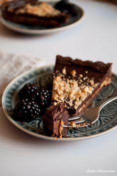 Pastel de chocolate y crema de cacahuete - Bake-Street.com