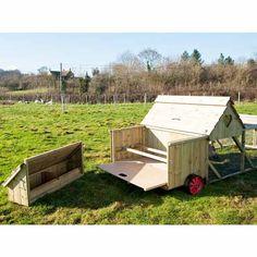 Dorset Ranger Ten Chicken Coop with 6ft Run