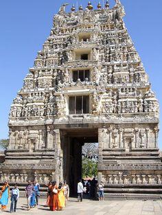 Halebid Gopuram Temple, India