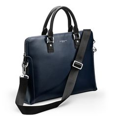 Thomas Lyte - Burlington Business Bag, Petrol Briefcase, Gallery, Business, Leather, Bags, Offices, Handbags, Roof Rack, Store