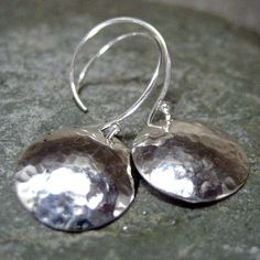 Sterling Silver Earrings - Handmade Artisan Jewelry - Designed by A Second Time