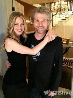 Kristen Bauer and Todd Lowe in the True Blood Season 6 Photobooth