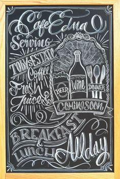 chalkboard beer menus - Google Search