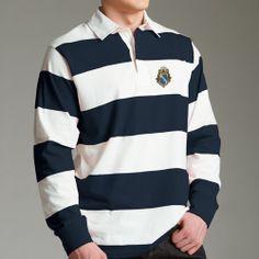 Campus Classics - Alpha Phi Omega Coat of Arms Rugby Shirt: $49.95