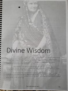 Mental Development, Maria Montessori, Unity, Wisdom