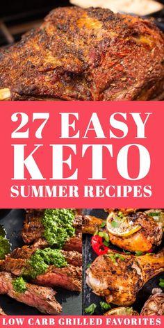 Ketogenic Recipes, Diet Recipes, Healthy Recipes, Lunch Recipes, Low Carb Summer Recipes, Salad Recipes, Diet Meals, Shake Recipes, Smoothie Recipes