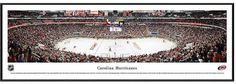 NHL Carolina Hurricanes Hockey Arena Framed Wall Art