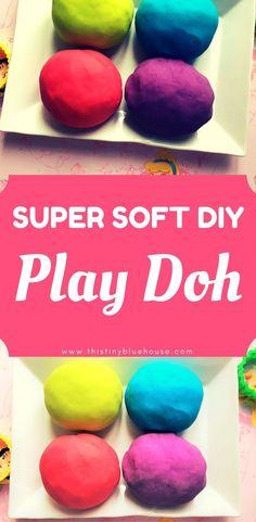 Super Easy DIY Non-Toxic Play-Doh #playdoh #toddleractivities #DIYplaydoh #nontoxicplaydoh #DIYtoddlercrafts #frugal #frugaltoddleractivities #ToxicParenting