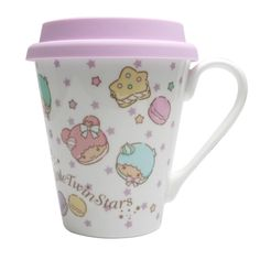 Little Twin Stars Ceramic Mug with Silicon Cap