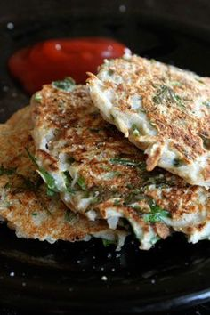 Turnip Parsley Cakes - I just got some fresh Johns Island turnips and am totally going to make these with some of them!