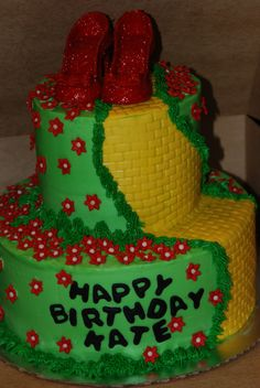 wizard of oz bridal shower ideas | Wizard of Oz Cake