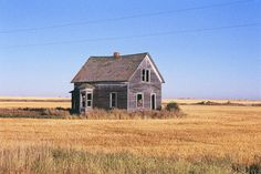 Fixer upper: Dust Bowl era farmhouse in High Line, North Dakota. Submitted byAlex Sienkiewicz.