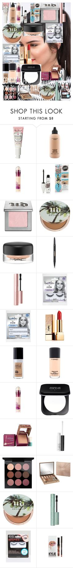 """""""KENDALL AND KYLIE : Get The Look!"""" by oroartyellie on Polyvore featuring beauty, MAC Cosmetics, Maybelline, Urban Decay, eylure, Yves Saint Laurent, MAKE UP FOR EVER, Benefit, NARS Cosmetics and Ardell"""