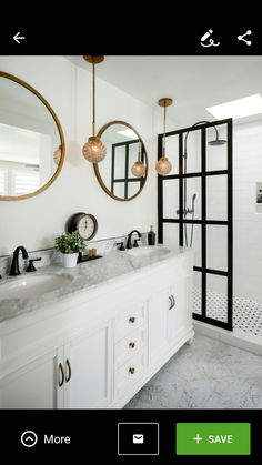 Urban style Master Bathroom