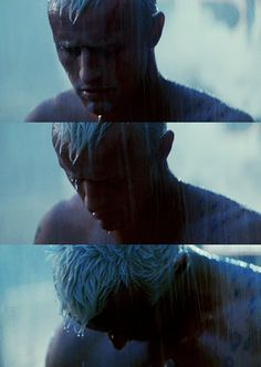 Blade Runner - Rutger Hauer. One of my most memorable scenes. How painful it is to be.. Human..