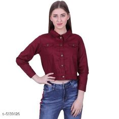 Jackets Fancy Women's Jackets Fabric: Cotton Sleeve Length: Long Sleeves Pattern: Solid Multipack: 1 Sizes:  S (Bust Size: 36 in Length Size: 28 in)  XL (Bust Size: 42 in Length Size: 28 in)  L (Bust Size: 40 in Length Size: 28 in)  M (Bust Size: 38 in Length Size: 28 in) Country of Origin: India Sizes Available: S, M, L, XL, XXL   Catalog Rating: ★4.2 (17234)  Catalog Name: Comfy Fabulous Women Jackets CatalogID_758744 C79-SC1023 Code: 023-5139126-