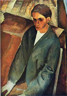 Portrait of Andre Salmon, 1912Moise Kisling
