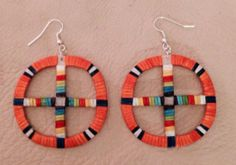 Lakota Sioux Quilled Wheel Earrings – eBay Find of the Week