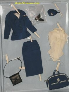 vintage barbie doll clothing: fotolar