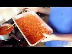 Como fazer molho de pimenta industrial - YouTube Pudding, Chutneys, Desserts, 30, Salsa, Industrial, Youtube, Spices, Cakes