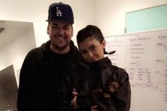 Kylie Jenner and Rob Kardashian Reunite Publicly for the First Time Since He Began Dating Blac Chyna