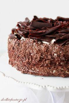 Tort czekoladowo-wiśniowe marzenie