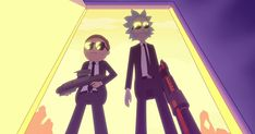 Watch 'Rick and Morty' Slay Aliens in Run the Jewels' 'Oh Mama' Video #headphones #music #headphones