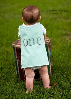 1st birthday cape baby bodysuit with cape by ShopImperfectionista