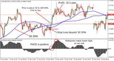"""Forex Trading Systems and Books: """"Moving Average MACD Combo"""" Trading System"""