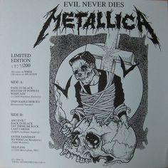 Pushead - Evil Never Dies (Metallica)