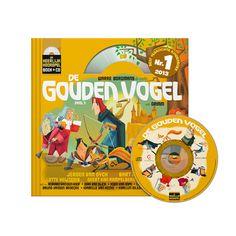 Boek & CD: De Gouden Vogel (uitg. Het Geluidshuis) Dapper, Logo, Logos, Environmental Print