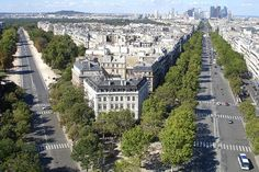 From the top of Arc de Triomphe, Paris | Flickr - Photo Sharing!