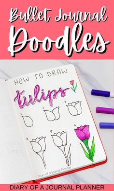 Become a bullet journal pro with our ultimate doodle tutorial list with over 100 doodles to choose from! #doodling #bulletjournaldoodles #doodle #howtodraw #drawng #Bujo