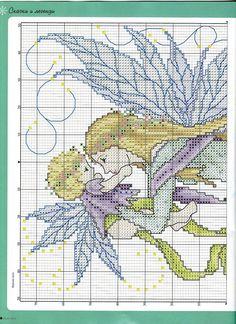 Fairy Mother and Child - 2/4 PUNTADITAS (pág. 213) | Aprender manualidades es facilisimo.com
