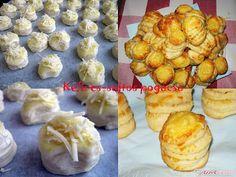 Kefires-sajtos pogácsa | Ízzel-lélekkel készült receptek Cauliflower, Muffin, Healthy Eating, Vegetables, Breakfast, Food, Bakken, Eating Healthy, Morning Coffee